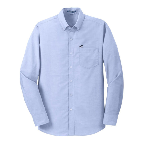 Sale! Delta Chi Light Blue Button Down Shirt
