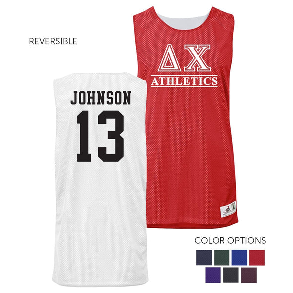 Delta Chi Personalized Intramural Athletics Reversible Mesh Tank