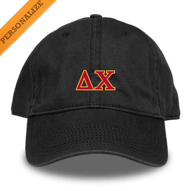 Delta Chi Personalized Black Hat
