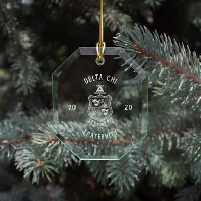 New! Delta Chi 2020 Limited Edition Holiday Ornament