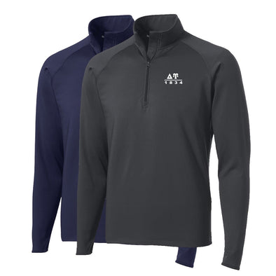 Delta Upsilon Performance Essential Quarter-Zip Pullover