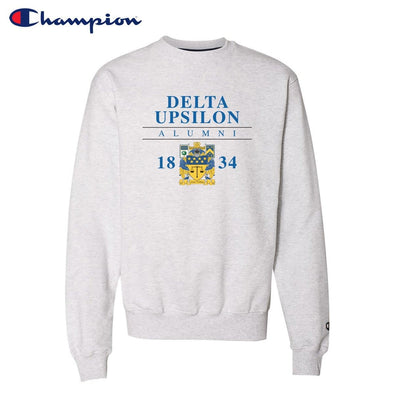 New! Delta Upsilon Alumni Champion Crewneck
