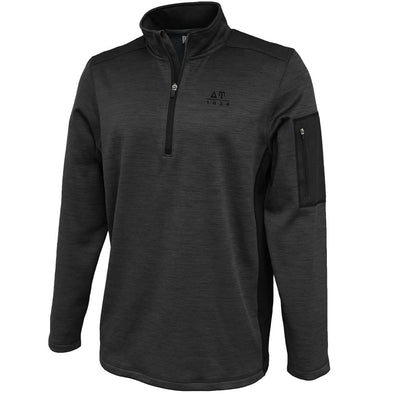 DU Heather 1/4 Zip Performance Sweatshirt