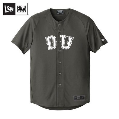 Delta Upsilon New Era Graphite Baseball Jersey