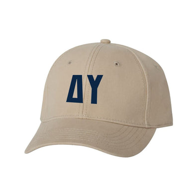 DU Structured Greek Letter Hat