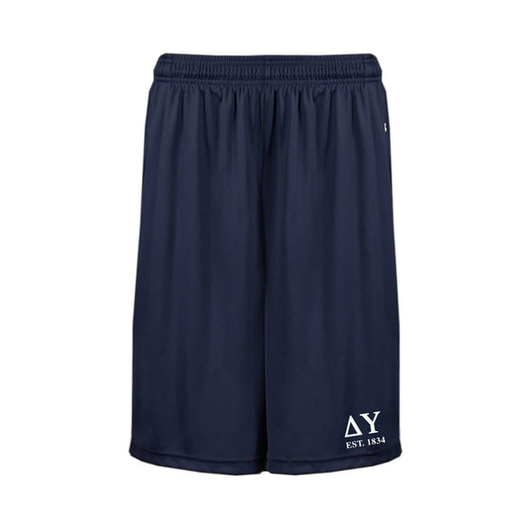 DU Navy Pocketed Performance Shorts