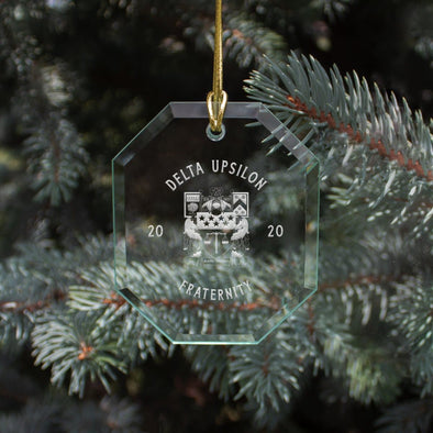 New! Delta Upsilon 2020 Limited Edition Holiday Ornament