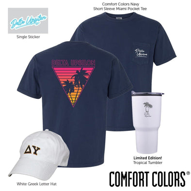 New! Delta Upsilon Tropical Bundle