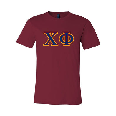 Chi Phi Cardinal Essential Letter Tee