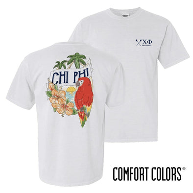New! Chi Phi Comfort Colors Tropical Tee