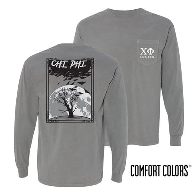 Chi Phi Halloween Night Comfort Colors Tee