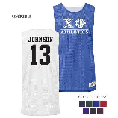 Chi Phi Personalized Intramural Athletics Reversible Mesh Tank