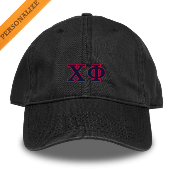 Chi Phi Personalized Black Hat
