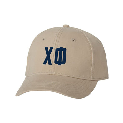 Chi Phi Structured Greek Letter Hat