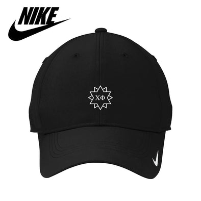 Chi Phi Black Nike Dri-FIT Performance Hat