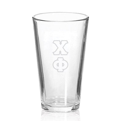 Sale! Chi Phi Engraved Fellowship Glass
