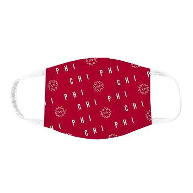 Chi Phi Patterned Face Mask