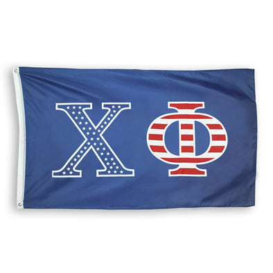 Chi Phi Stars and Stripes Flag