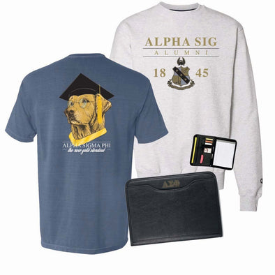 Alpha Sig Ultimate Graduation Bundle