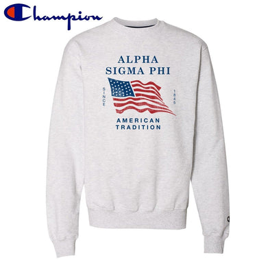 New! Alpha Sig American Tradition Champion Crew