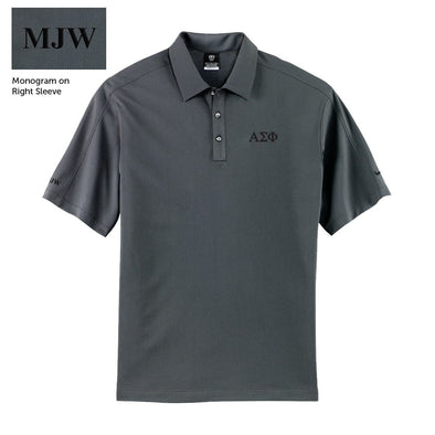 Alpha Sig Personalized Nike Performance Polo