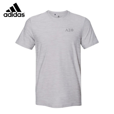 New! Alpha Sig Adidas Performance Tee