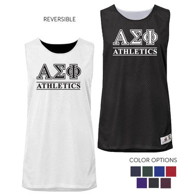 Alpha Sigma Phi Intramural Athletics Reversible Mesh Tank