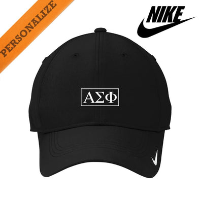Alpha Sig Personalized Nike Dri-FIT Performance Hat