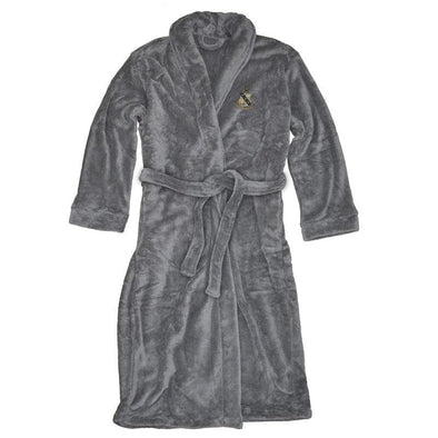 Sale! Alpha Sigma Phi Charcoal Ultra Soft Robe