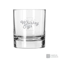 Sigma Chi Engraved Whiskey Sigs 10.25 oz Glass