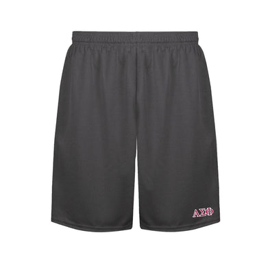 Alpha Sigma Phi Charcoal Performance Shorts