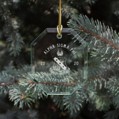 Alpha Sig 2020 Limited Edition Holiday Ornament