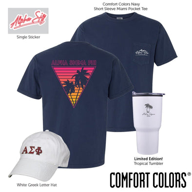 New! Alpha Sig Tropical Bundle