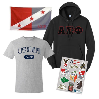 New! Alpha Sig Ultimate New Member Bundle