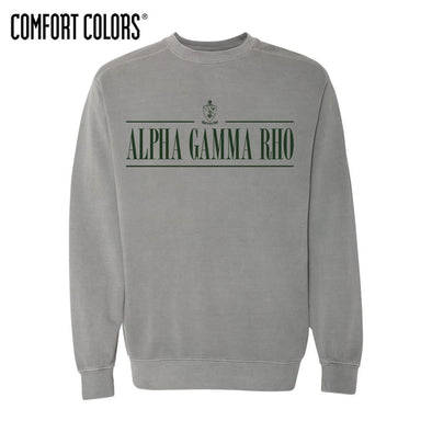 AGR Gray Comfort Colors Crewneck