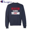 AGR Red White and Navy Champion Crewneck