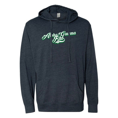 New! AGR Retro Lightweight T-Shirt Hoodie