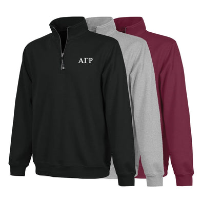 AGR Charles River Quarter Zip