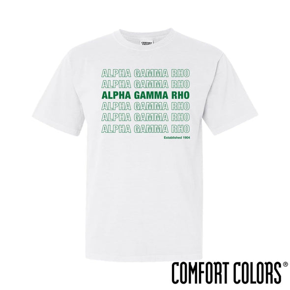 AGR Comfort Colors White Thank You Bag Tee