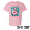 AGR Comfort Colors Pink Short Sleeve Flamingo Tee