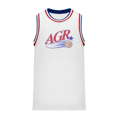 New! AGR Retro Swish Basketball Jersey
