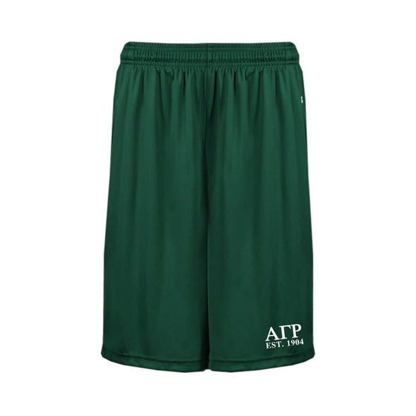 AGR Forest Pocketed Performance Shorts