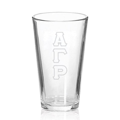 AGR Engraved Fellowship Glass