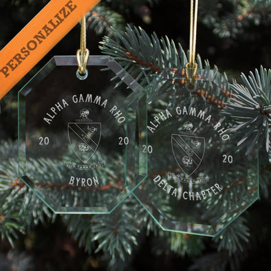 New! AGR 2020 Personalized Limited Edition Holiday Ornament