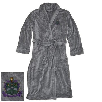 Sale! Delta Sig Charcoal Ultra Soft Robe