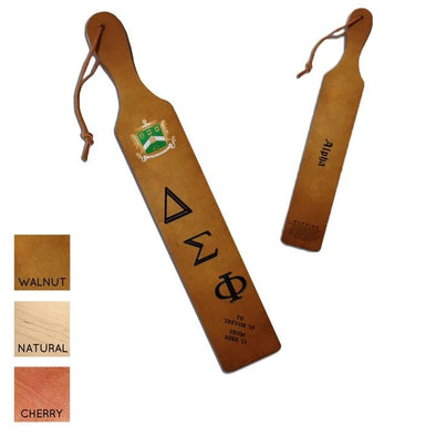 Delta Sig Personalized Traditional Paddle