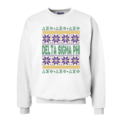 Delta Sig Ugly Christmas Sweater