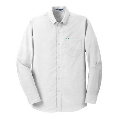Clearance! Delta Sig White Button Down Shirt