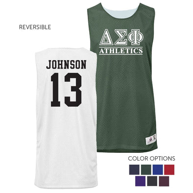 Delta Sig Personalized Intramural Athletics Reversible Mesh Tank