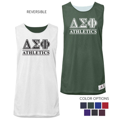 Delta Sig Intramural Athletics Reversible Mesh Tank